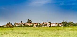 panoramisch landschap stock foto's
