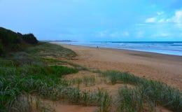 Panoramisch landschap van Arrawarra royalty-vrije stock foto