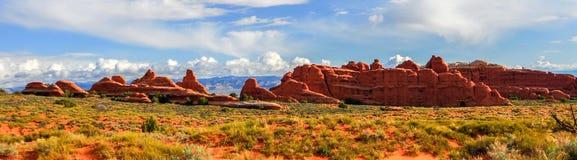 Panoramisch Landschap van Bogen Nationaal Park Royalty-vrije Stock Afbeelding