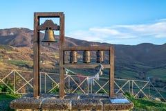 Panoramisch in Pennabilli Stockfotos