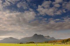 Panoramisch, ruhig und sehr bunt lizenzfreie stockfotos
