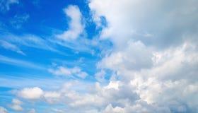 Panoramisch schot van de hemel Royalty-vrije Stock Afbeelding