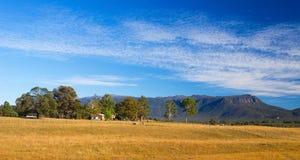 Panoramisch Tasmaans Landschap royalty-vrije stock fotografie