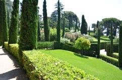 Panoramisch tuin en park Stock Fotografie
