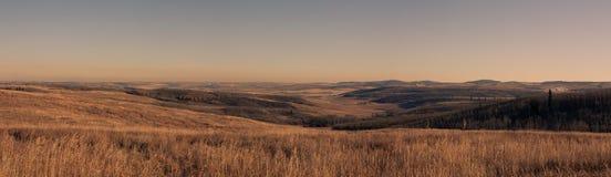 Panoramisch Uitloperslandschap royalty-vrije stock foto's