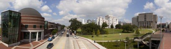 Panoramisch van Baton Rouge Van de binnenstad, Louisiane stock foto