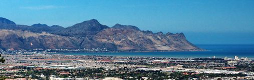 Panoramisch van Bundel, Zuid-Afrika royalty-vrije stock afbeelding