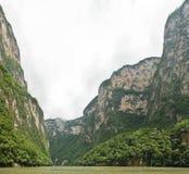 Panoramisch van Canion Sumidero royalty-vrije stock foto