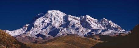 Panoramisch van Chimborazo royalty-vrije stock afbeeldingen