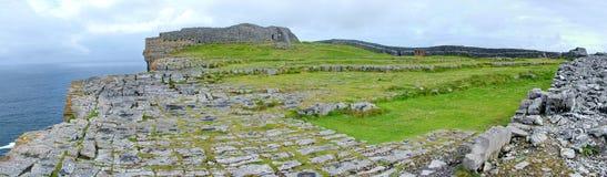 Panoramisch van Dún Aonghasa royalty-vrije stock afbeelding