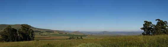 Panoramisch van de binnenlanden royalty-vrije stock foto