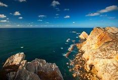 Panoramisch van de klippen royalty-vrije stock fotografie