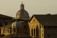 De oude stad van Rome Royalty-vrije Stock Foto's