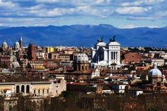 De oude stad van Rome Royalty-vrije Stock Afbeeldingen