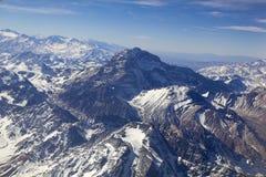Panoramisch van de waaier van de Andes Royalty-vrije Stock Foto