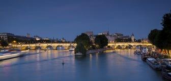Panoramisch van Parijs royalty-vrije stock foto