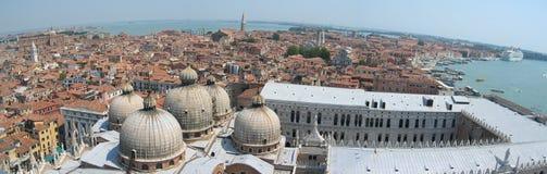 Panoramisch Venetië Stock Afbeeldingen
