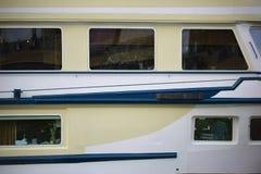 Panoramisch vensterspassagiersschip Stock Afbeelding