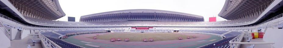 Panoramisch von einem Stadion Lizenzfreie Stockbilder