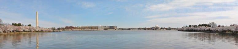 Panoramisch Washington DC royalty-vrije stock foto's