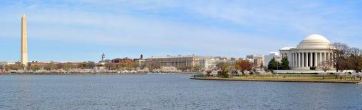 Panoramisch Washington DC stock foto's