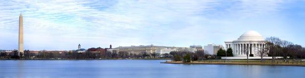 Panoramisch Washington DC Royalty-vrije Stock Afbeeldingen