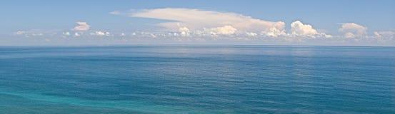 Panoramisch zeegezicht stock fotografie