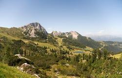 Panoramische Alpen Stock Afbeeldingen