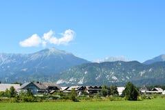 Panoramische Alpes Ansicht Stockfoto