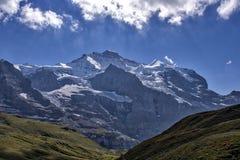Panoramische Alpes Ansicht Lizenzfreie Stockbilder