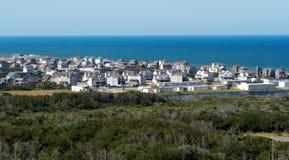 Panoramische Ansicht über Buxton Lizenzfreie Stockfotografie