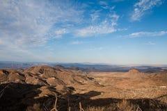 Panoramische Ansicht über die Dodson Spur Lizenzfreie Stockfotos