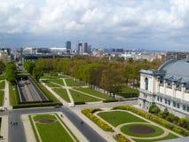 Panoramische Ansicht Brüssel Stockfotografie
