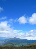 Panoramische Ansicht der Anden Stockbild
