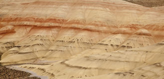 Panoramische Ansicht der gemalten Hügel Stockbilder