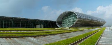 Panoramische Ansicht der modernen Architektur Stockfotos