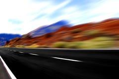 Panoramische Ansicht der schnellen Drehzahl Lizenzfreie Stockfotografie
