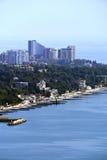 Panoramische Ansicht der Stadt Stockbilder
