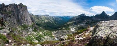 Panoramische Ansicht des Durchlaufs des Malers Lizenzfreie Stockbilder