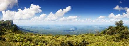 Panoramische Ansicht des Fensters des Gottes Lizenzfreies Stockfoto