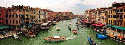 Panoramische Ansicht des großartigen Kanals Stockbilder