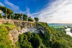 Panoramische Ansicht vom Haube dordogne Stockbilder