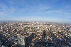 Panoramische Ansicht vom zitronengelben Kai Stockfotos