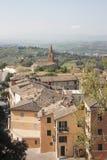 Panoramische Ansicht von Assisi Stockbilder
