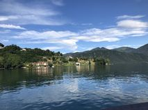Panoramische Ansicht von Bolsena Lizenzfreie Stockfotografie