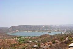 Panoramische Ansicht von Bolsena Stockfoto