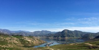 Panoramische Ansicht von Bolsena Stockfotografie