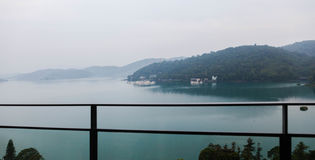 Panoramische Ansicht von Bolsena Lizenzfreies Stockfoto