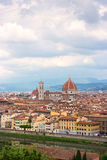 Panoramische Ansicht von Florenz Stockfotografie