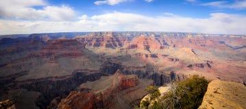 Panoramische Ansicht von Grand Canyon Lizenzfreie Stockbilder